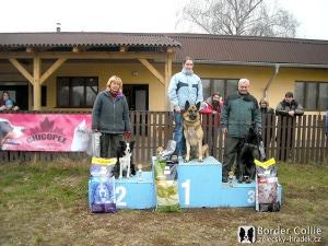 Besi, druhé místo v závodech ZVV2